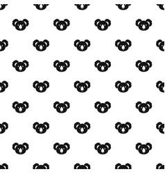 koala pattern vector image
