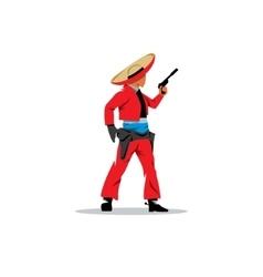 Bandit Mexican vector image
