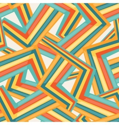 Bright abstract seamless geometric pattern vector image vector image