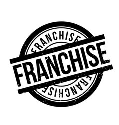 Franchise rubber stamp vector