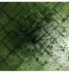 Grunge tech background vector image vector image