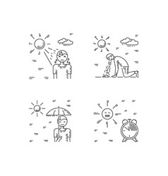 Heat stroke vector