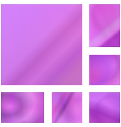 Pink abstract background design set vector