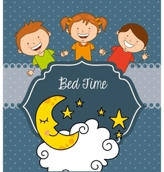 Bed time vector