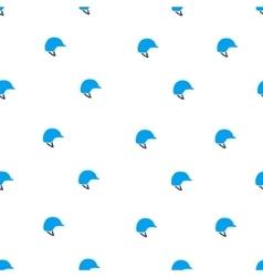 Motorcycle helmet flat seamless pattern vector