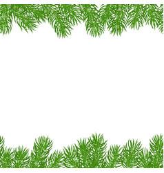 Seamless horizontal borders vector