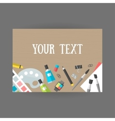 Set icons design and art on table vector