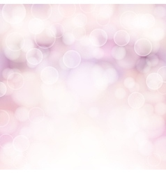 Soft pink bokeh background vector