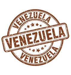 Venezuela stamp vector