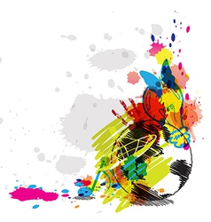 Abstract art design vector