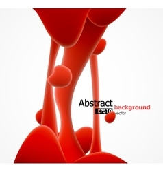 Abstract liquid background vector