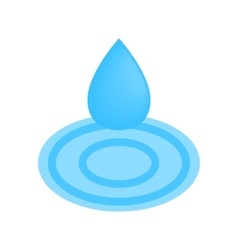 Drop spa isometric 3d icon vector