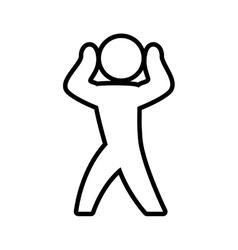 Male pictogram icon person design graphic vector