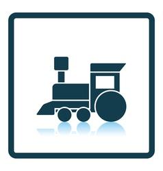 Train toy icon vector