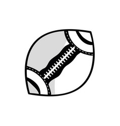 football ball to training play game sport vector image