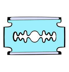 Razor blade icon icon cartoon vector