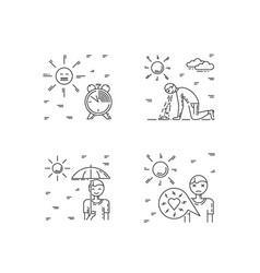 Heat stroke vector