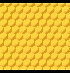 Honeycomb beehive seamless pattern vector