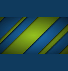 abstract blue and green background diagonal lines vector image