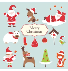 Christmas set 2 vector