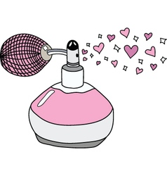 Love perfume vector image