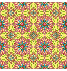 Seamless pattern made from abstract mandala vector