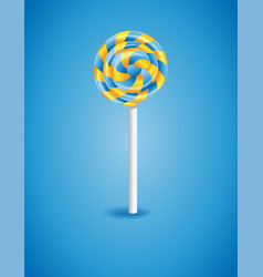 with candy vector image
