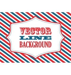 striped background red vector image