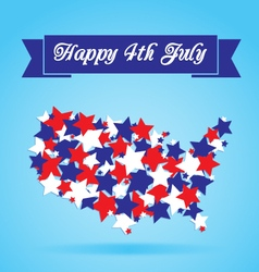 4th of July Card vector image vector image
