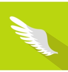 Wing icon in flat style vector