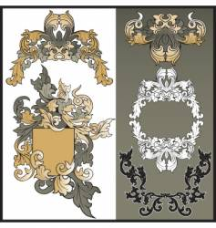 frames from pattern for design vector image vector image