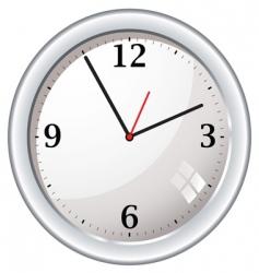 wall clock vector image vector image