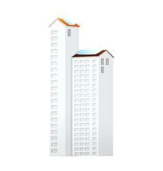 Icon apartment vector