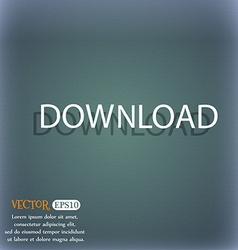 Download icon upload button load symbol on the vector