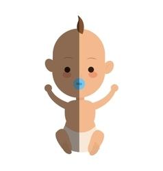 baby cartoon icon vector image