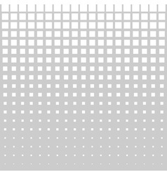 Abstract Halftone Square Dot Background vector image
