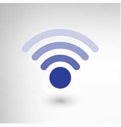 Creative wireless symbol vector