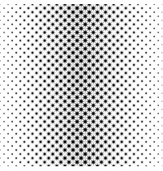 Monochrome star pattern - geometrical abstract vector