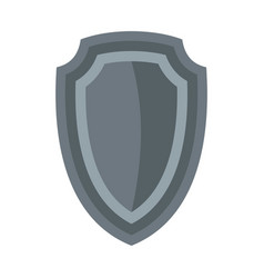 Army shield icon flat style vector