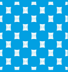 Japanese traditional scrol pattern seamless blue vector