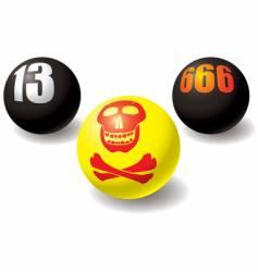 Paranormal balls vector