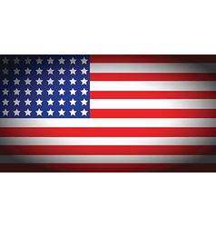 Usa faded flag vector