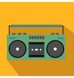 Boombox flat icon vector