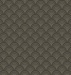 Abstract wave pattern seamless background vector