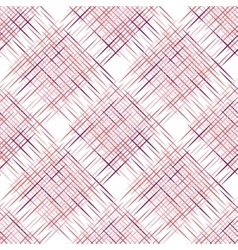 Diagonal plaid pattern vector image