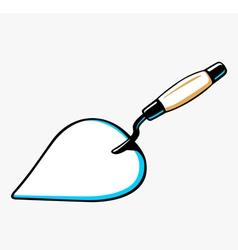 Trowel vector image vector image