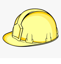 Construction helmet vector