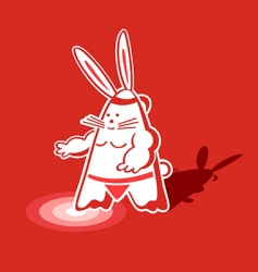Sumo rabbit vector