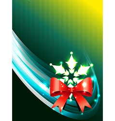 christmas background art vector image vector image