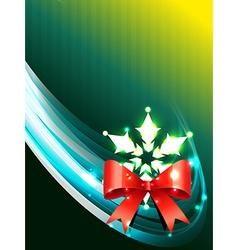 christmas background art vector image